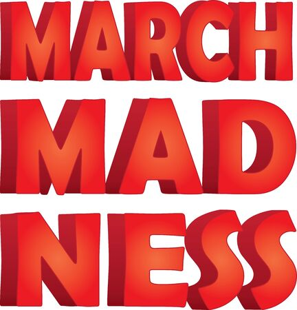 March Madness Stacked Graphic