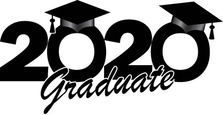 2020 Graduate Banner Illustration
