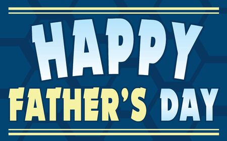 Happy Father's Day Banner tortoise shell pattern