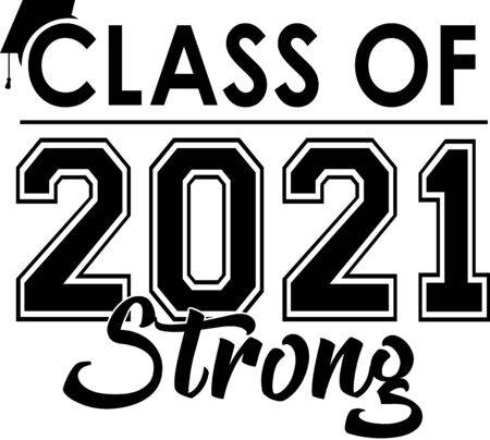 Class of 2021 Strong Banner Illustration