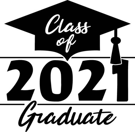 Class of 2021 Graduate Illustration