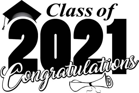 Congratulations Class of 2021 Illustration