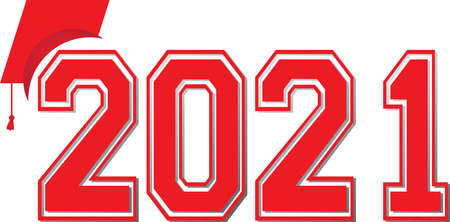 Red Class of 2021 Banner