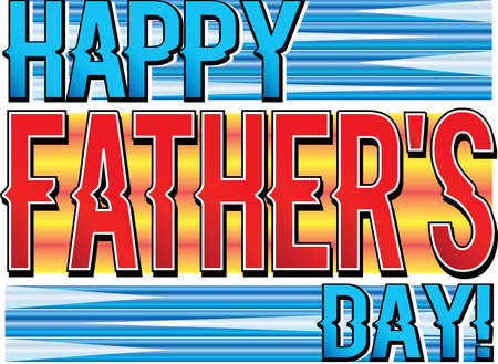 Happy Father's Day Graphic 일러스트