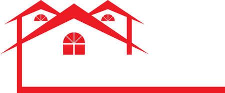 Red Housing Иллюстрация