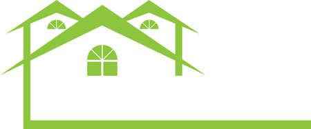 Green Housing Иллюстрация