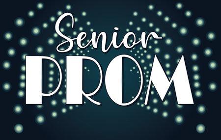 Senior Prom Spot Light Background