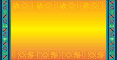 Colorful Hispanic Latino Background