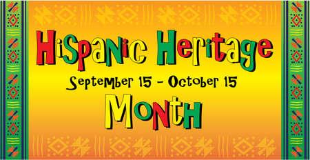 Hispanic Latino  Heritage Background