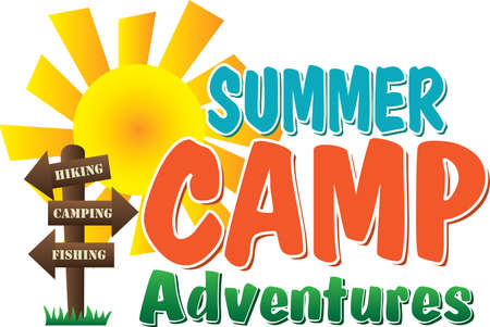 Summer Camp Adventures Logo