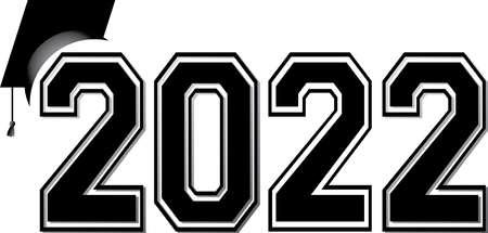 2022 Simple Varsity Letters Logo