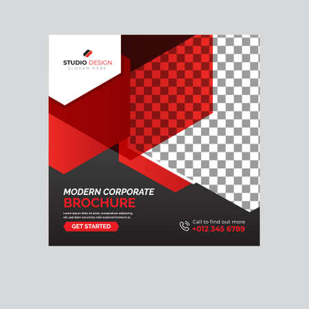 Abstract Unique Editable modern Social Media banner Template. Anyone can use This Design Easily. Promotional web banner for social media. Elegant sale and discount promo - Vector