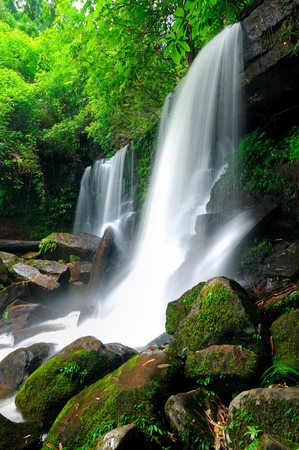 loei: Waterfall at Loei,Thailand
