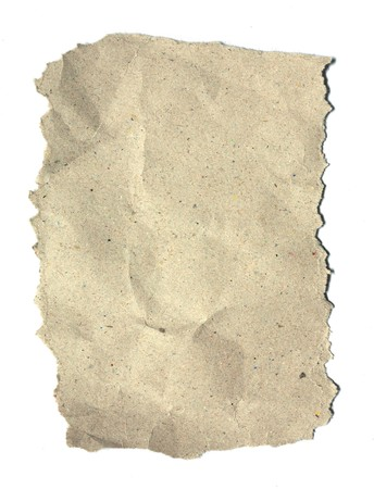 Texture of recycle paper on white background Stock Photo - 7833819