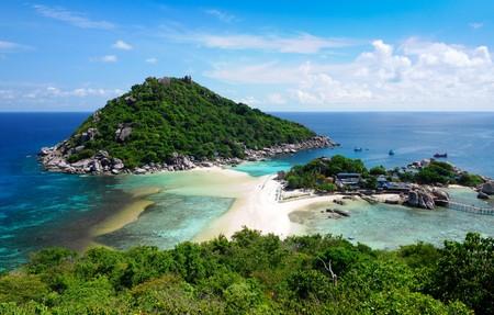 koh: La isla de Koh Nang yuan, Surat, Tailandia