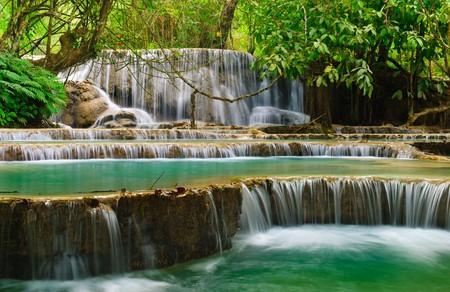 Kuang Xi Waterfall, Luangprabang, Laos