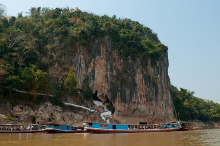 mekong: Pak Ou Cave, Luang Pra bang,Laos