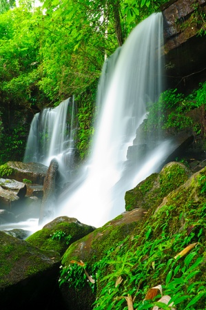 loei: Waterfall in the jungle,Loei,Thailand  Stock Photo