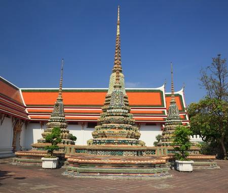 Wat Pho temple, Bangkok,Thailand photo