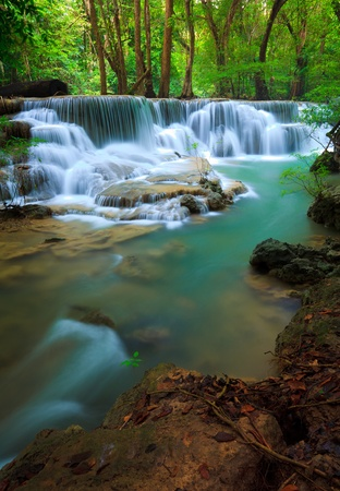 eravan: Erawan Waterfall, Kanchanaburi, Thailand