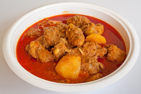 curry: Massam curry, comida estilo tailand�s