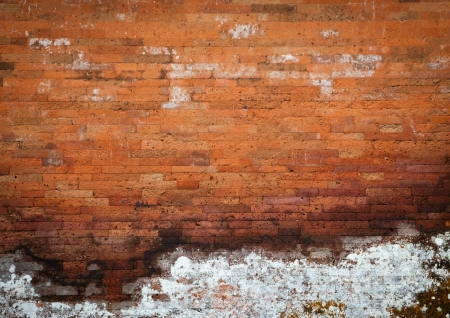 crack wall: grunge brick wall texture Stock Photo