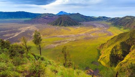 Mount Bromo volcano, East Java, Surabuya, Indonesia Banco de Imagens