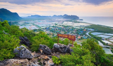 sam: Khao Dang Viewpoint, Samroi yod national park, Thailand Stock Photo