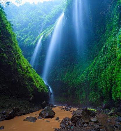Madakaripura  Waterfall, East Java, Indonesia Stock Photo - 20353305