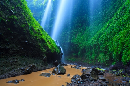 Madakaripura  Waterfall, East Java, Indonesia photo