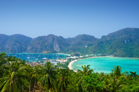 Phi phi island, Krabi, Southern of Thailand photo