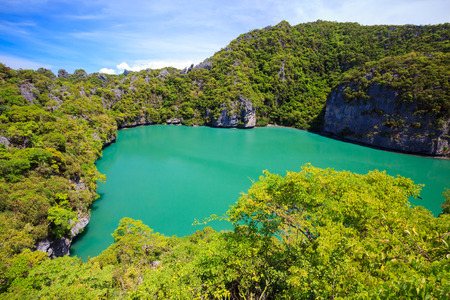 Inland sea, Angthong national marine park, koh Samui, Southern of Thailand Stock fotó