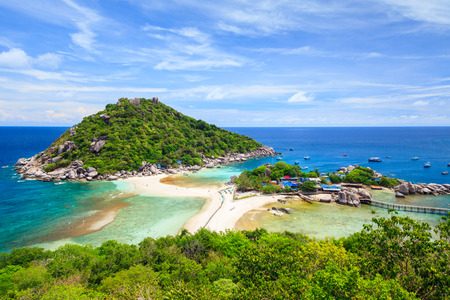 Nangyuan island, Suratthani, Southern of Thailand photo