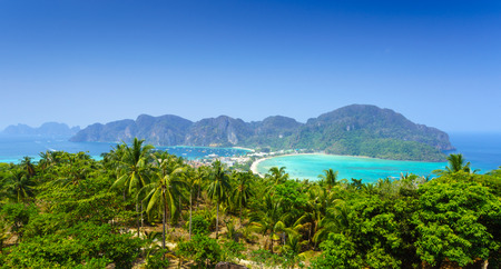 southern thailand: Phi phi island, Krabi, Southern of Thailand