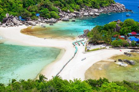 southern thailand: Nangyuan island, Suratthani, Southern of Thailand