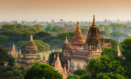 The  Temples of Bagan Pagan , Mandalay, Myanmar photo