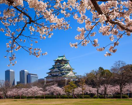 japon: Château d'Osaka, Osaka, Japon