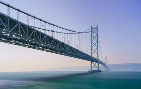 cable bridge: Akashi Kaikyo Bridge the world