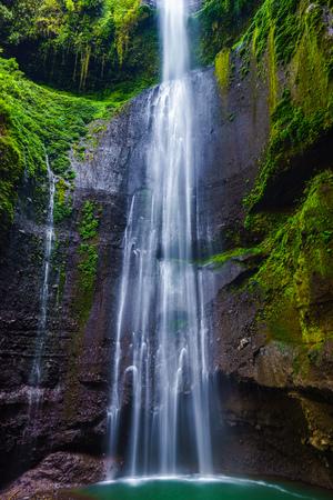 cataract falls: Madakaripura  Waterfall, East Java, Indonesia Stock Photo