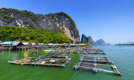 Koh Panyee, Fisherman village, Phang Nga, Ao Phang Nga National Park, Thailand