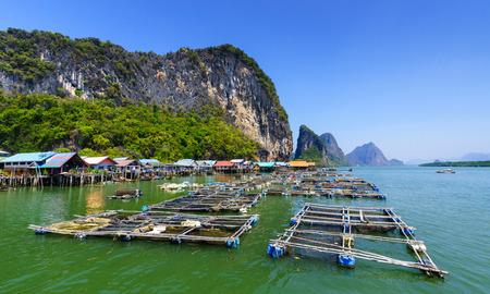 panyi: Koh Panyee, Fisherman village, Phang Nga, Ao Phang Nga National Park, Thailand