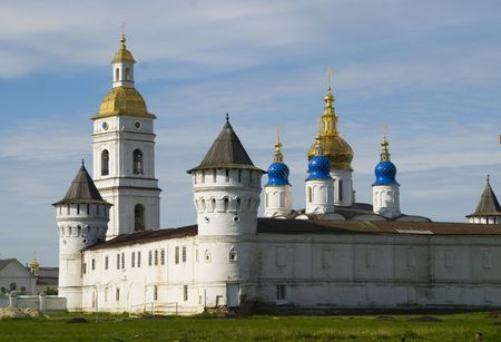 Tobolsk Kremlin complex. Guests Yard. Chapel. 1587 foundation year photo