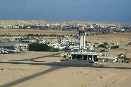 Hurghada airport. Egypt, Africa photo