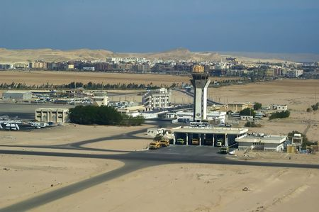Hurghada airport. Egypt, Africa photo