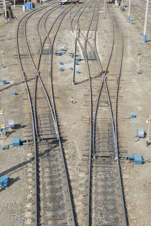 node: Railway node Stock Photo