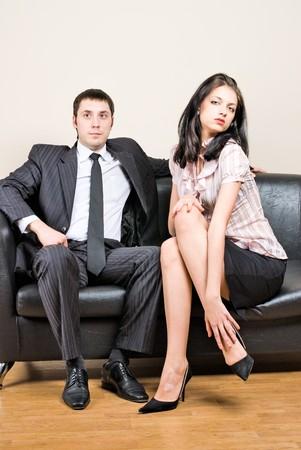 secretaria sexy: Jefe y le Secretario