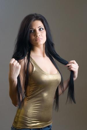 Attractive sexy girl Stock Photo - 8414398