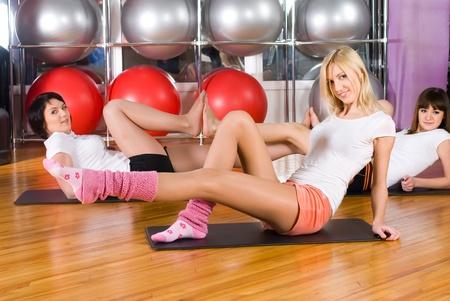 Fitness girls photo