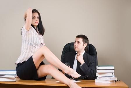 female boss: BOSS und ihn Sekret�r