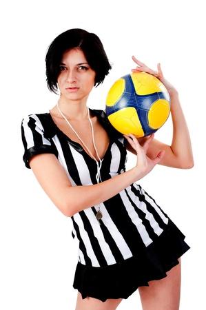 Sexy Soccer Referee photo